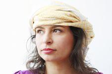 Free Beautiful Arabic Woman Royalty Free Stock Images - 18668489
