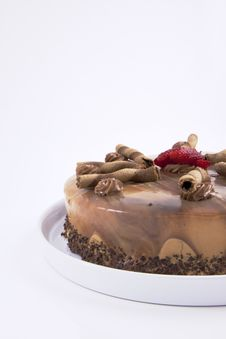 Free Mocha Cake Stock Photos - 18668673