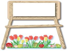 Free Easter Frame Royalty Free Stock Images - 18669059