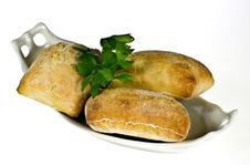 Free Ciabatta Bread Rolls Royalty Free Stock Photography - 18669847