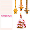 Free Happy Birthday Card Royalty Free Stock Photos - 18672058