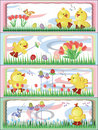Free Easter, Ducklings Royalty Free Stock Photos - 18676738