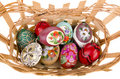 Free Painted Easter Eggs In Basket Royalty Free Stock Images - 18677039