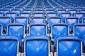 Free Empty Stadium Seats Royalty Free Stock Photography - 18678397