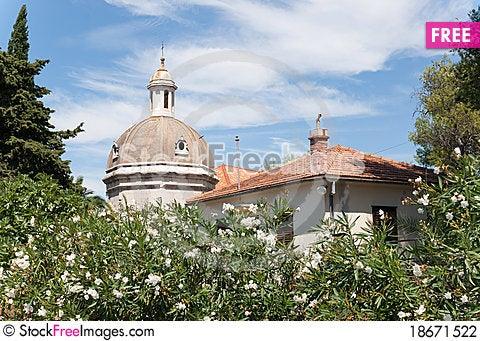 A dome in stari grad Stock Photo