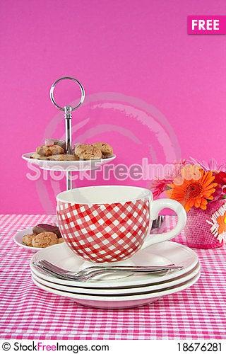 High tea Stock Photo