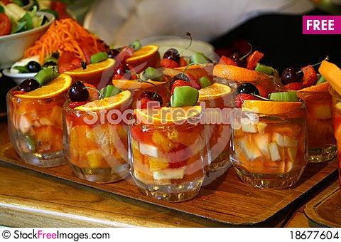 Fruit salat Stock Photo