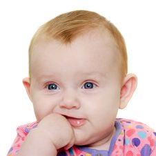 Free Baby Face Stock Image - 18670241