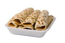 Free Fried Pancakes Stuffed Stock Photos - 18670763