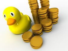 Free Rubber Duck Royalty Free Stock Photo - 18670995