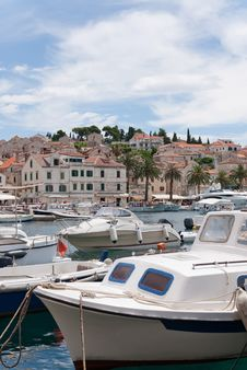 Free Hvar And Its Harbor Stock Photography - 18671312