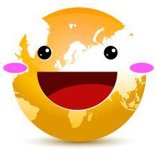 Free Orange Globe Stock Image - 18671331