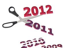 Free New Year 2012 Royalty Free Stock Images - 18671769