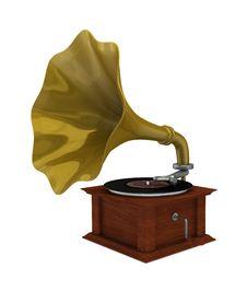 Free Gramophone Royalty Free Stock Photos - 18671898