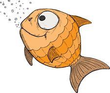 Free Cartoon Fish Stock Image - 18672041