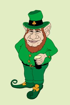 Free Leprechaun Stock Photography - 18672192
