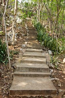Free Stone Stairway Stock Photos - 18674753