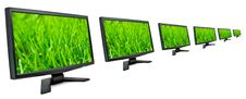 Free Monitors. Stock Images - 18675084