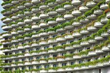 Free A View Of Hotel Facade, Bangkok, Thailand Stock Photo - 18675440