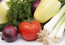 Free Raw Vegetables Stock Photography - 18675672