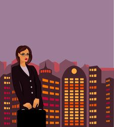 Free Businesswoman Stock Image - 18676321