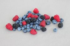 Free Mixed Berries Royalty Free Stock Photo - 18676335