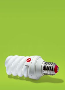 Electric  Bulbs Royalty Free Stock Images