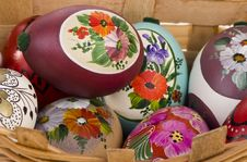 Free Beautiful Easter Eggs Stock Photography - 18676972