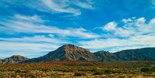 Free El Teide In Horizon Royalty Free Stock Photo - 18677835