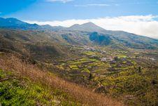 Tenerife Fields Royalty Free Stock Photos