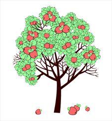 Free Apple Tree Royalty Free Stock Photography - 18678387