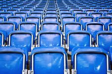 Free Empty Stadium Seats Royalty Free Stock Photography - 18678397
