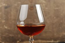 Free Brandy In Glass Royalty Free Stock Photography - 18678707