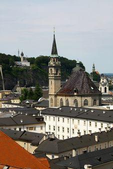 Free Salzburg Church Stock Photography - 18678772