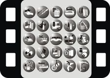 Free Icon On The Profession Royalty Free Stock Images - 18679099