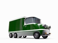 Free Truck Green Stock Images - 18679734