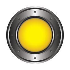 Free Yellow Button Stock Photography - 18679762