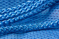 Free Blue Fabric And Rope Stock Photography - 18680492