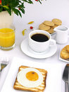 Free Fried Egg On Toast Stock Photos - 18686683