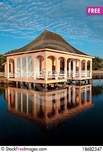 The Boathouse Stock Photo