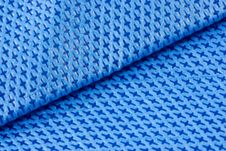 Free Blue Fabric Background Royalty Free Stock Images - 18680439