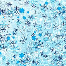 Free Snowflakes Background Royalty Free Stock Photos - 18680518