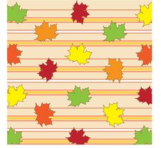Free Fall Leaves Background Royalty Free Stock Image - 18680726
