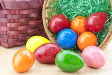 Free Colorful Easter Eggs Royalty Free Stock Photo - 18681315