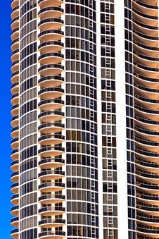 Free Balconies Of Scyscrapers Royalty Free Stock Image - 18681336
