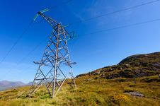 Free Electric Power Pole Stock Images - 18681844