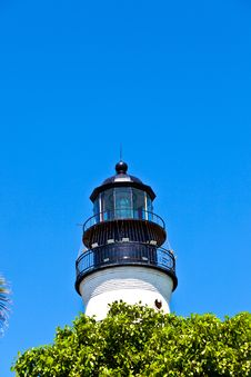 Free Lighthouse From Key West In Florida Royalty Free Stock Images - 18682049