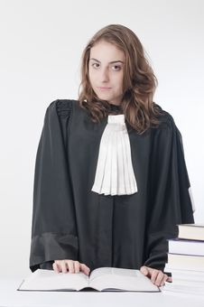 Free Young Lawyer Royalty Free Stock Photography - 18682277