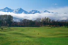 Free Golf Course Royalty Free Stock Image - 18683296