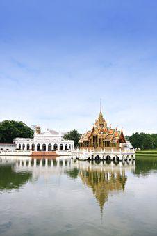 Free Bang Pa-in Palace Stock Photo - 18684180